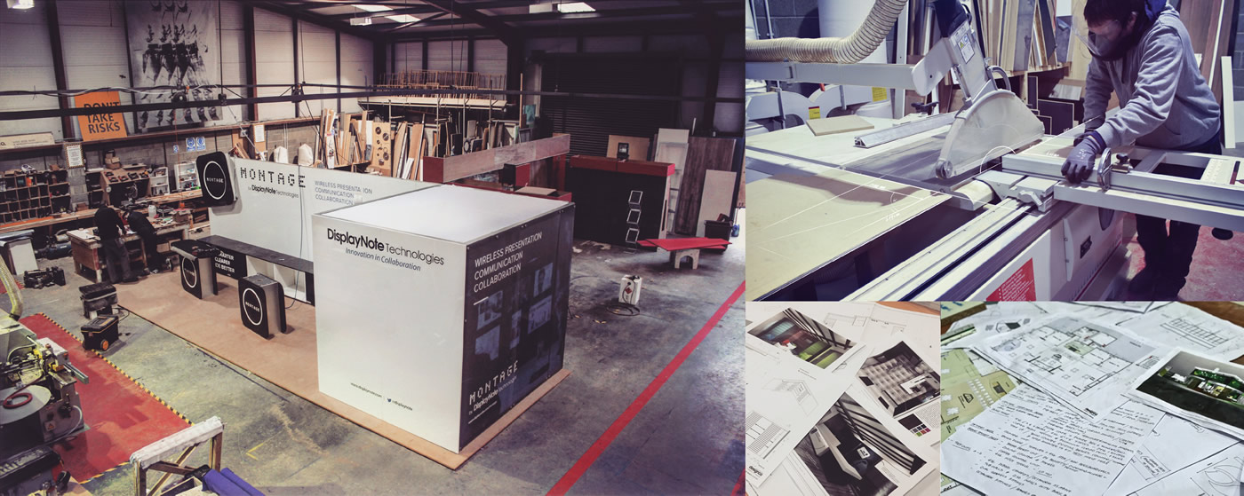 The Designco workshop in Newtownabbey